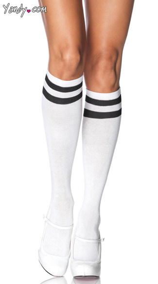 Knee High Athletic Socks