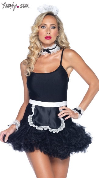 French Maid Kit, French Maid Costume, French Maid Costume Accessories, Costume Accessory