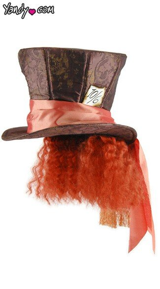 Movie Madhatter Hat With Hair