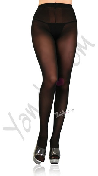 Plus Size Opaque Sheer Tights