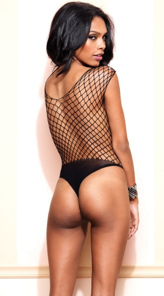 Seamless Diamond Net Teddy