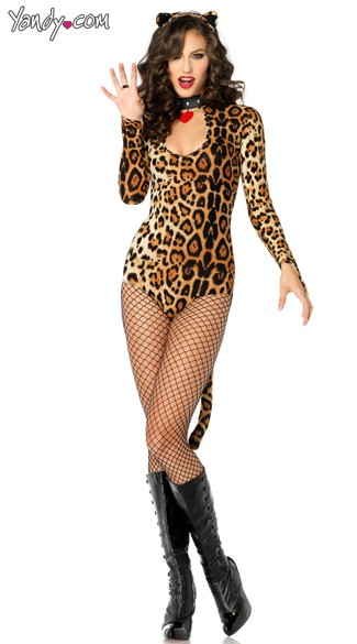 Wildcat Costume, Frisky Kitty Costume, Leopard Costume