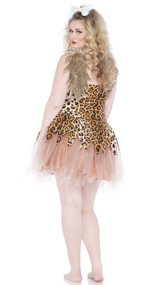 Plus Size Cave Girl Cutie Costume