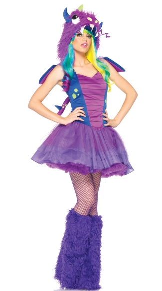 Darling Dragon Costume, Purple Dragon Costume, Magic Dragon Costume, Adult Dragon Costume