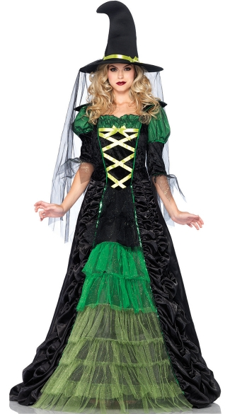 Adult Green Witch Costume