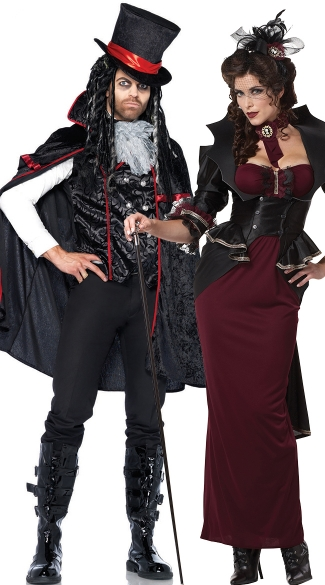 Men\'s Dreaded Count Vamp Costume