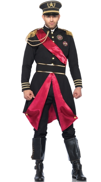 Men\'s General Costume, Army General Mens Costume