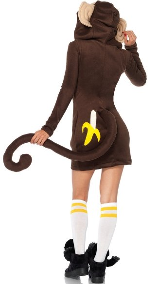 Fleece Monkey Costume