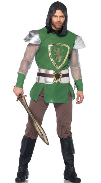 Men\'s Knight Costume, Queens Guard Costume