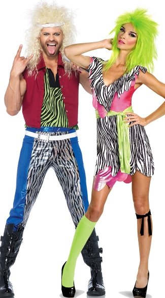 80s rockers couples costume mens rocker costume 80s