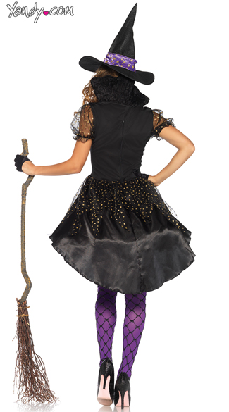 Crafty Vixen Witch Costume