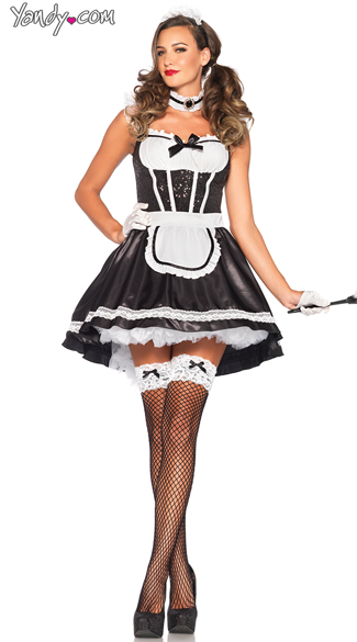 Darling Maid Costume, Sexy Maid Costume, French Maid Costume