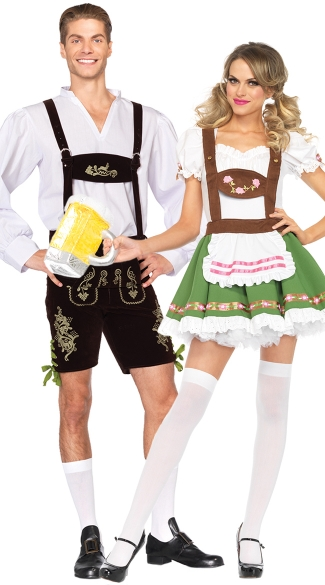 oktoberfest sweetie 39 s couples costume oktoberfest sweetie. Black Bedroom Furniture Sets. Home Design Ideas