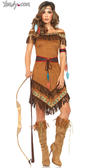 Native Princess Costume, Sexy Indian Costumes, Sexy Navajo Costume
