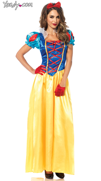Classic Snow Princess Costume, Fairest of All Princess Costume, Classic Movie Princess Costume