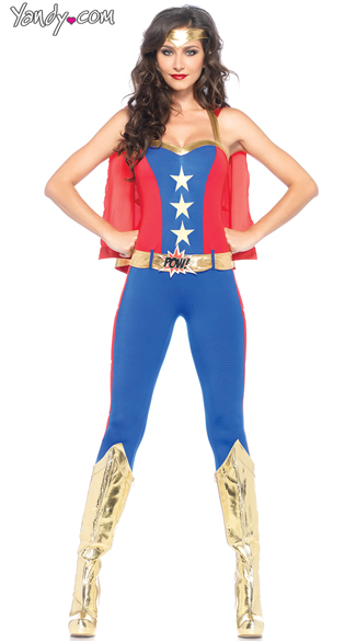 Sexy Wonder Lady Costume