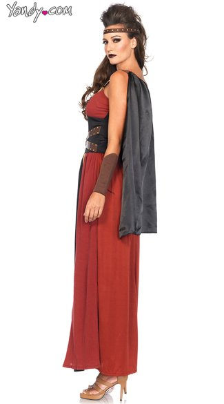 Seductive Regal Warrior Costume