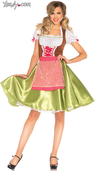 Darling Greta Beer Girl Costume, German Girl Costume, Sexy Oktoberfest Costume