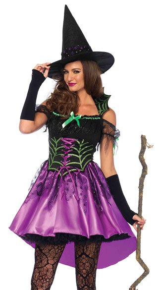 spiderweb witch costume sexy witch costume spider witch costume - Spider Witch Halloween Costume