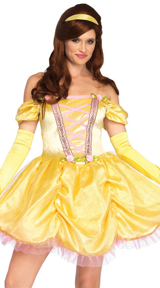 Enchanting Princess Costume, Bookworm Princess Costume - Yandy.com