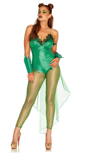 Pretty Poison Costume, Glowing Ivy Costume - Yandy.com