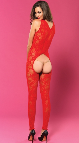 Your Heart\'s Desire Open Cup and Crotchless Bodystocking