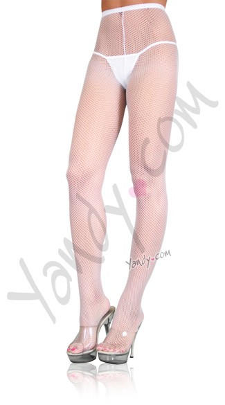 Plus Size Nylon Fishnet Pantyhose