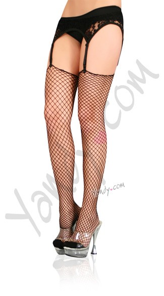 Plus Size Lycra Industral Net Stockings
