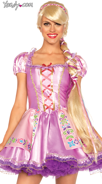 Rapunzel Wig, Disney Princess Wig, Braided Blonde Wig