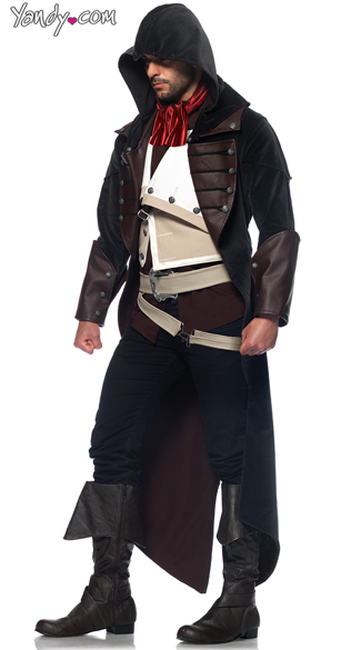 Arno Dorian Costume, Arno Assassin\'s Creed Halloween Costume,  Arno Assassin\'s Creed Costume