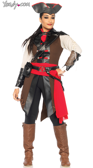 Assassans Creed Aveline de Grandpre Costume, Assassin\'s Creed Costume, Video Game Costumes