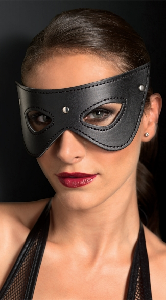 Studded Fantasy Eye Mask, Very Sexy Eye Masks, Black Costume Masks
