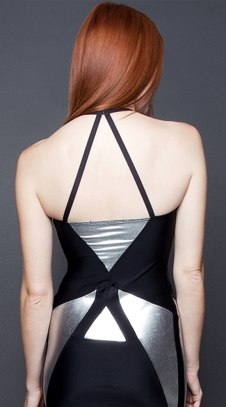 Spandex Broken Mirror Dress