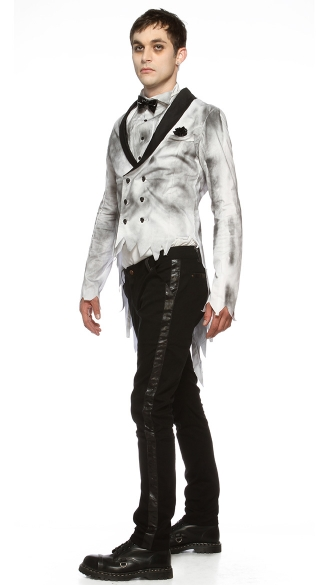 Plus Size Til Death Do Us Part Groom Costume