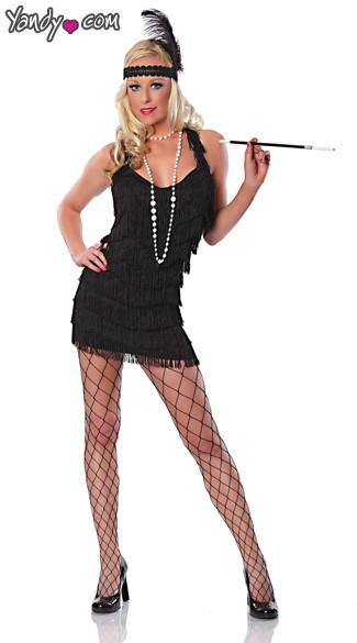 Lindy And Lace Costume, Flapper 1920\'s Costume, Flapper Girl Costume, Adult Flapper Halloween Costume