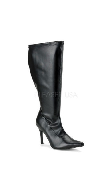 "Sexy Patent Boot with 3 3/4"" Heel"