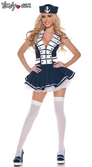 Navy Girl Costume