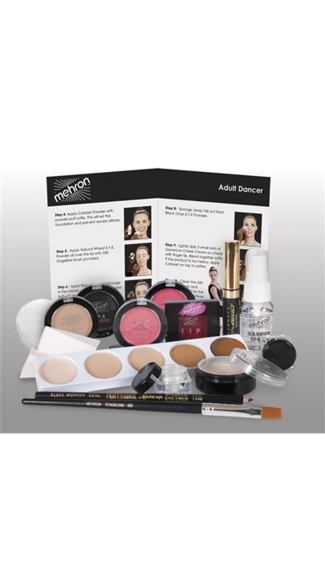 Dancer\'s Character Make Up Kit Premium, Dancers Make Up