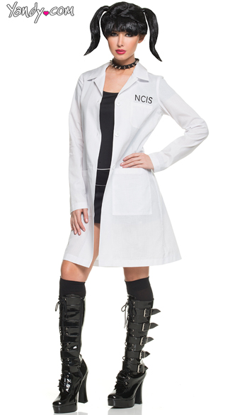 Abby NCIS Costume, Forensic Scientist Costumes, Female Lab Coat Costumes
