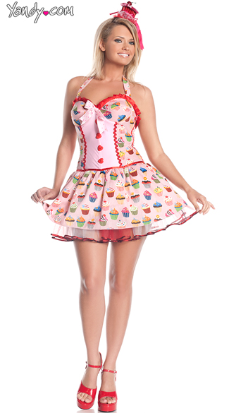 Plus Size Cupcake Cutie Costume Plus Size Sexy Food