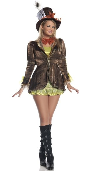 Plus Size Mad Hatter Costume