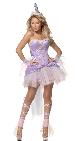 Purple Unicorn Costume
