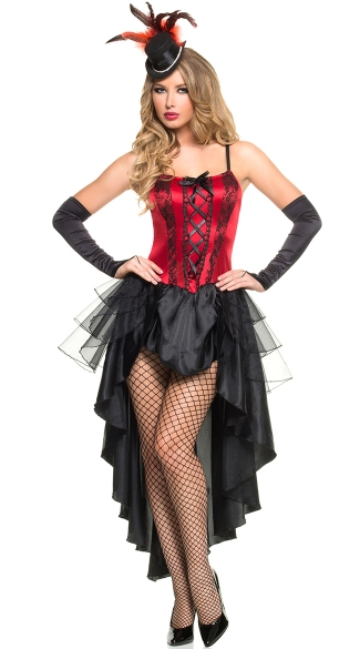 Burlesque Dancing Beauty Costume