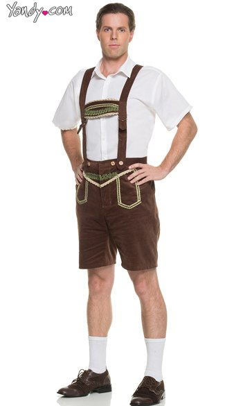 Men\'s Bavarian Gentleman Costume