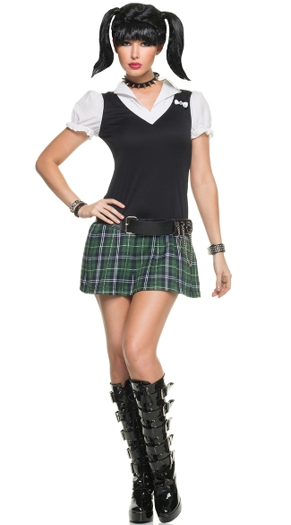 NCIS School Girl Costume, NCIS Abby Costume