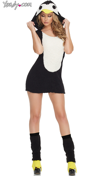 Penguin Hottie Costume