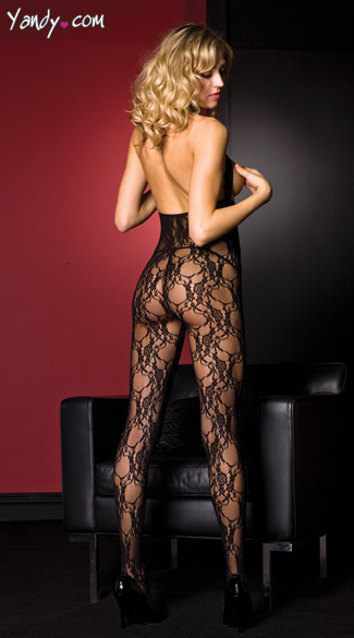 Cupless Lace Bodystocking