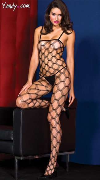Diamond Cut Bodystocking