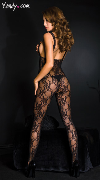 Lace Open Cup Bodystocking