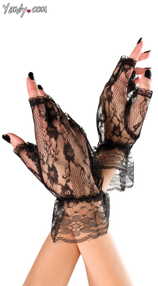 Lace Mini Gloves